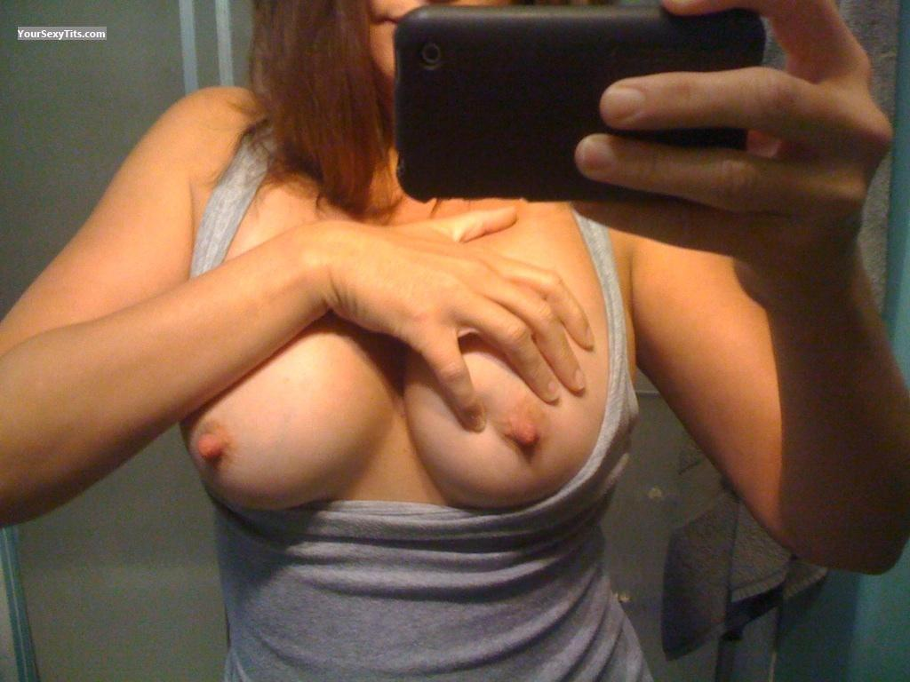 My Medium Tits Selfie by FTE